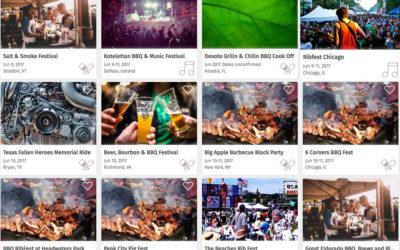 BBQ Festivals, Cook-offs & Contests Across the USA
