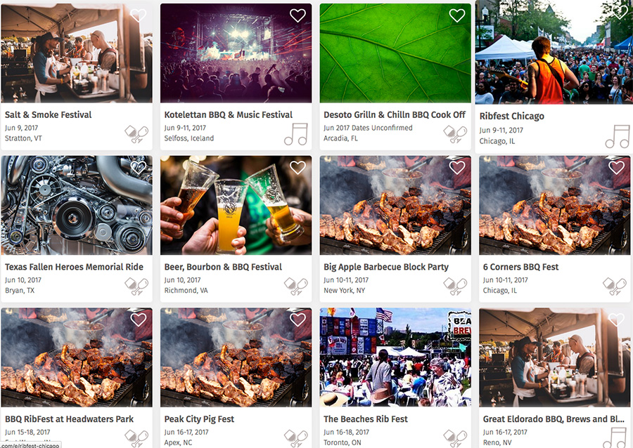 BBQ Festivals, Cook-offs & Contests Across the USA