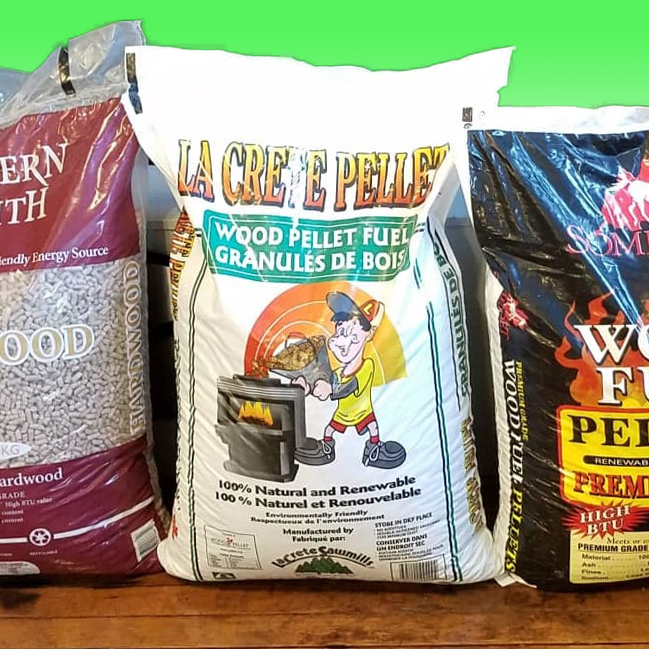 """We Deliver"" — Highest Quality Wood Pellets"
