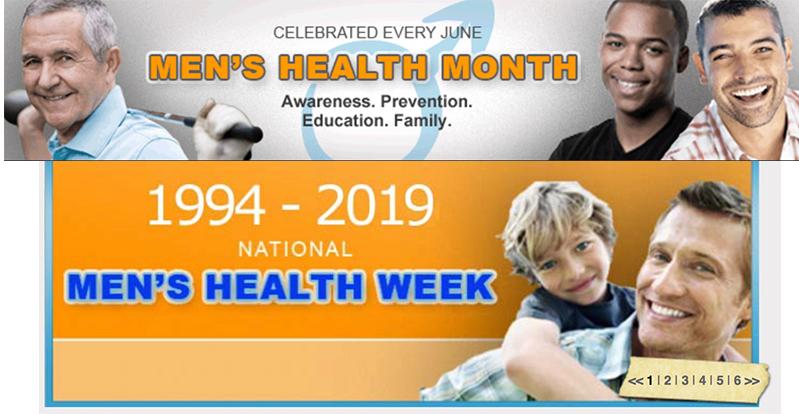 mens health week masthead